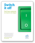 Switch it off - Poster