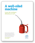 A well-oiled machine - Poster